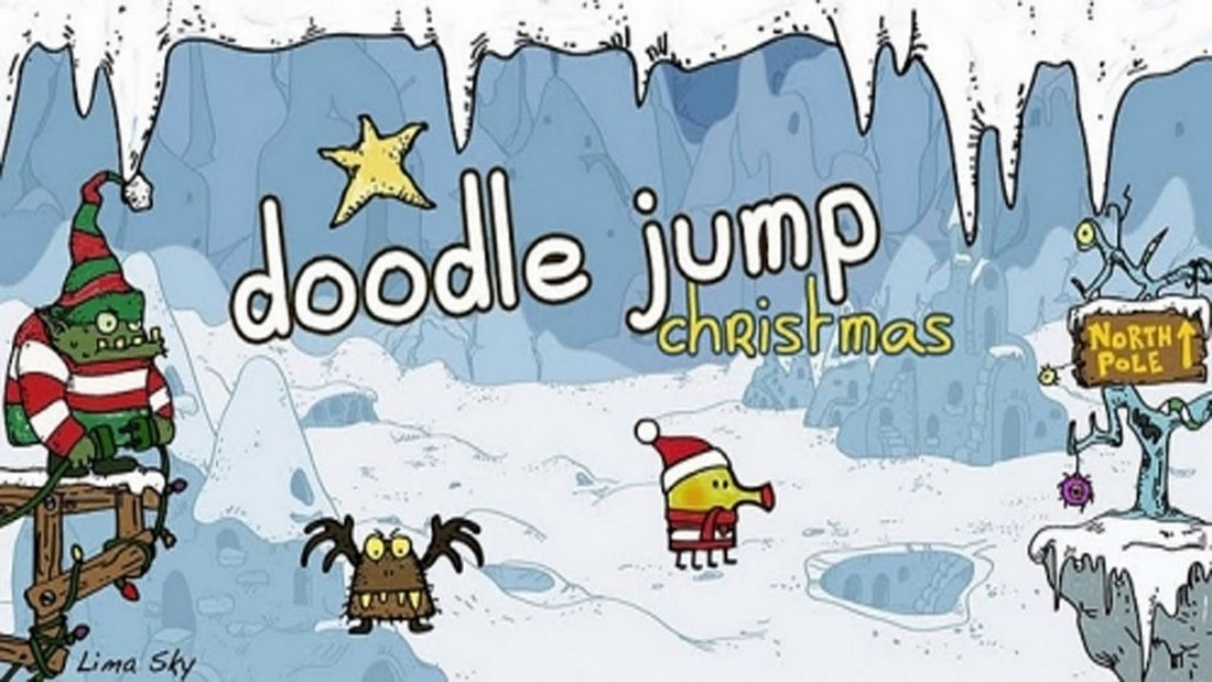 Doodle Jump Christmas Special.