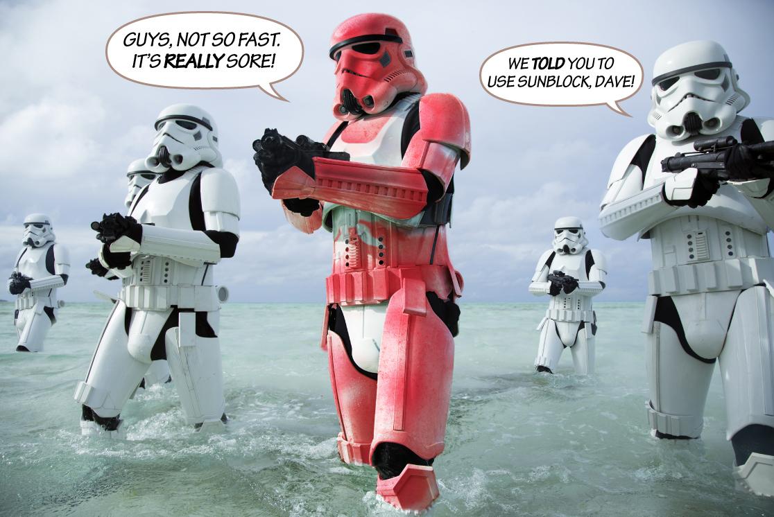 stormtroopers, spring break, scariff, star wars, rogue one