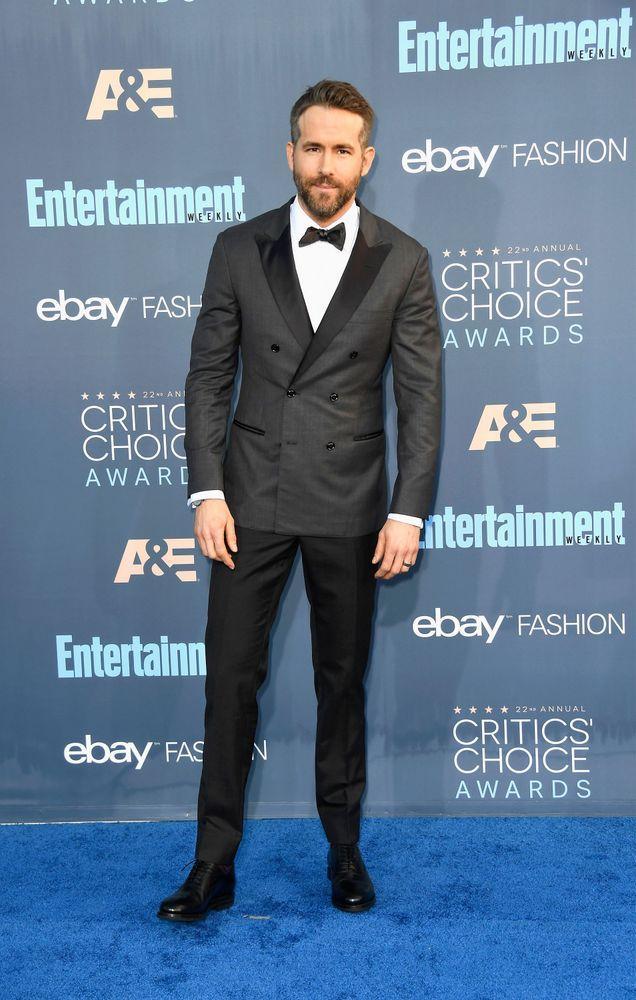 Ryan Reynolds in Brunello Cucinelli.