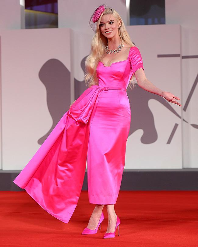 "Anya Taylor-Joy arrives for the screening of the film ""Last Night in Soho"""