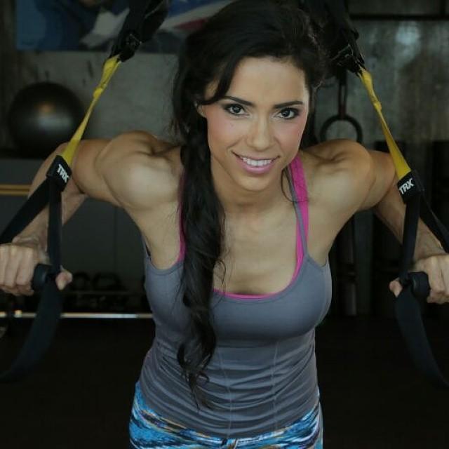 Award-winning Brazilian fitness instructor Andreia Brazier.