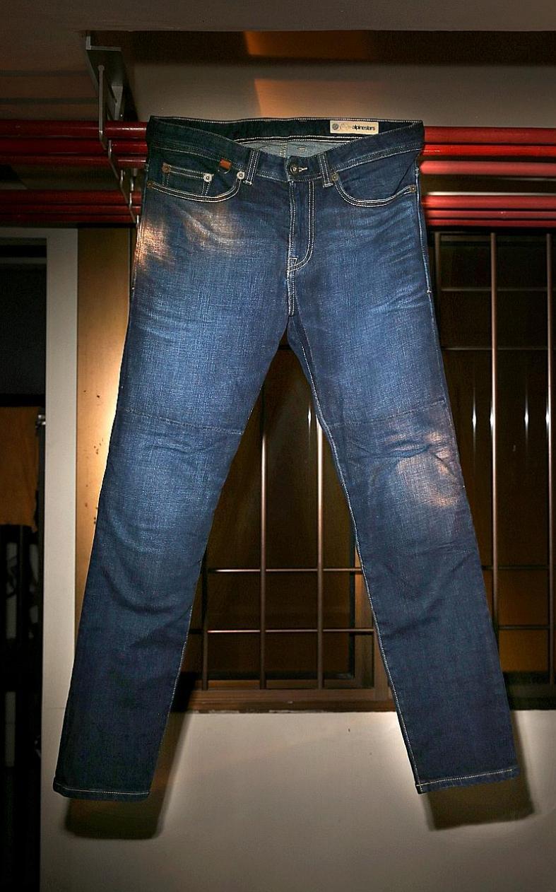 Lean, mean, riding jeans