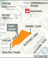 Stirling Road residential site triggered for tender