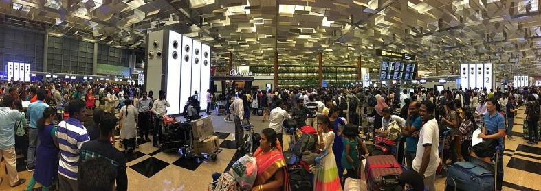T2 fire sparks delays at Changi