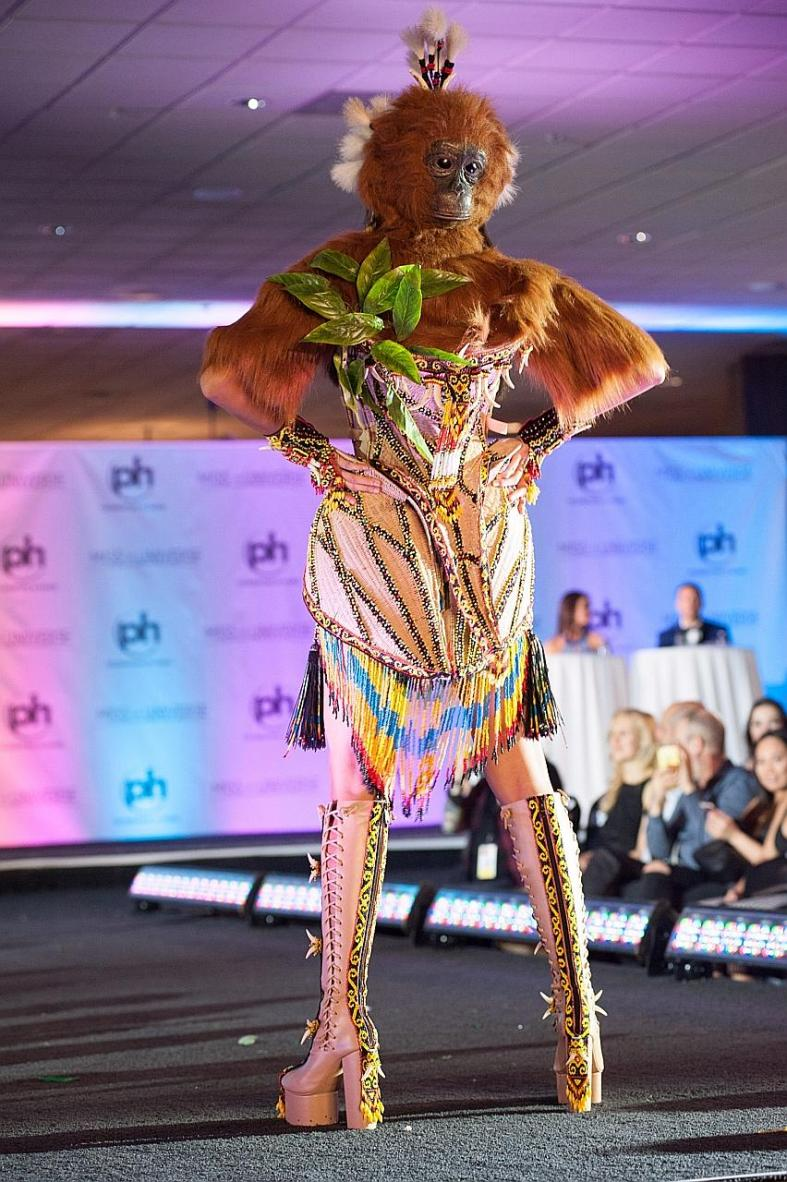 Asia's craziest national costumes at Miss Universe