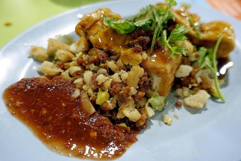 Head to Dunman Food Centre for authentic heritage snacks