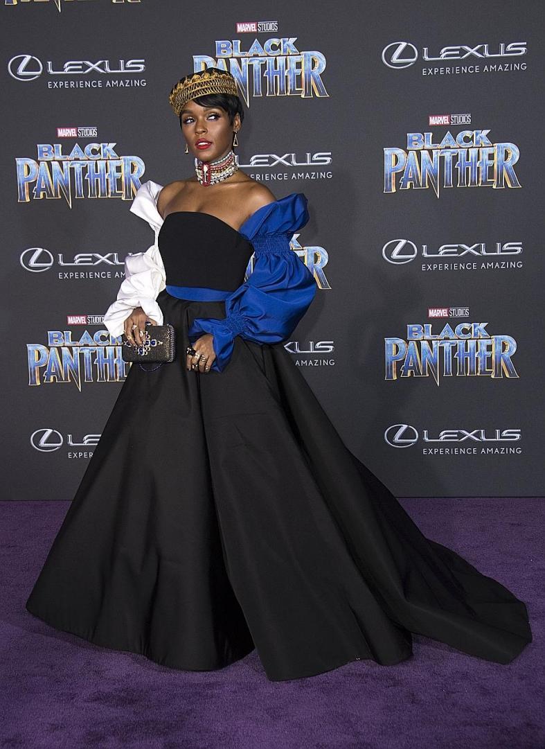Bassett, Nyong'o and Monae royally slay at Black Panther premiere