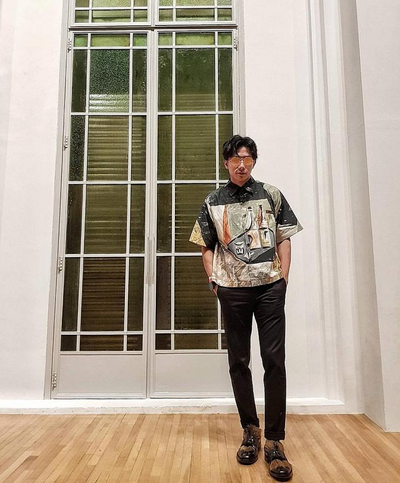 Desmond Tan experiments with styles as he's an explorer at heart