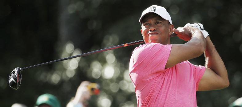 Golf fans at Augusta happy to see Tiger Woods back