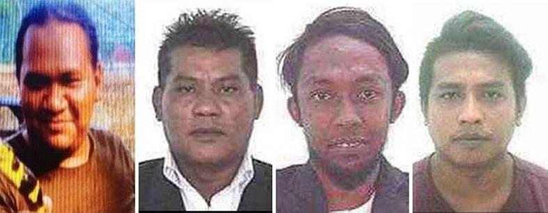 Malaysia hunting 4 militants planning to kidnap and murder cops