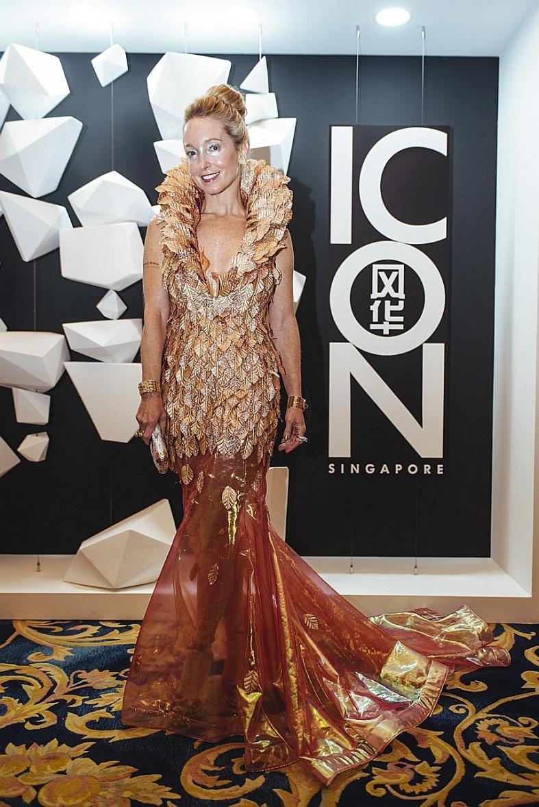 Futuristic fashion feted at Icon Ball