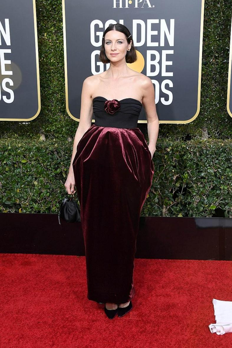 Globes red carpet far from golden