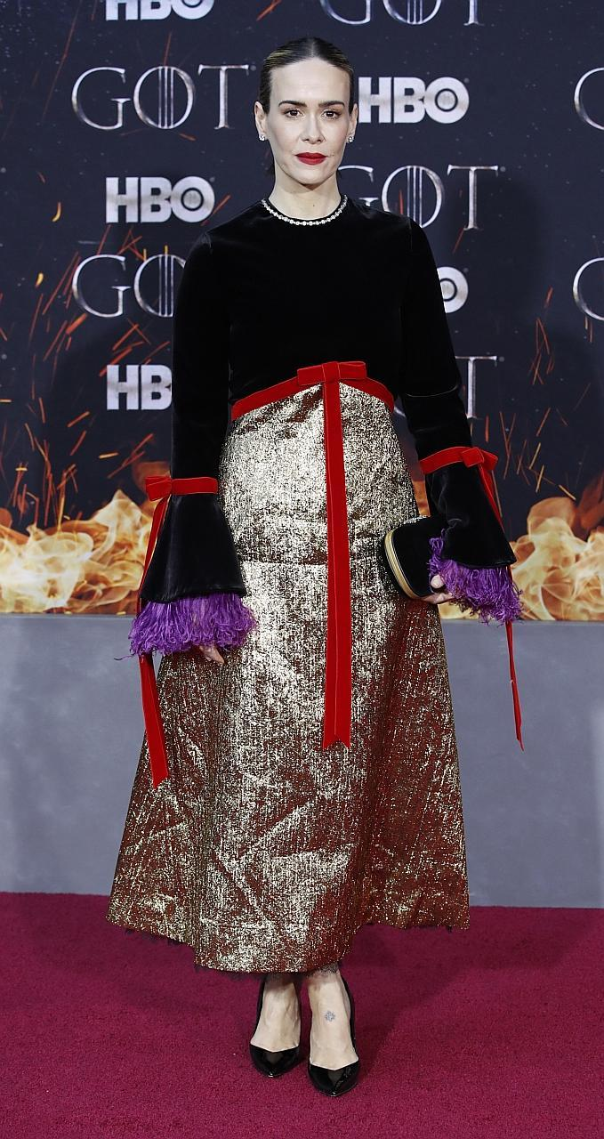 Game Of Thrones' Gwendoline Christie is new red carpet queen