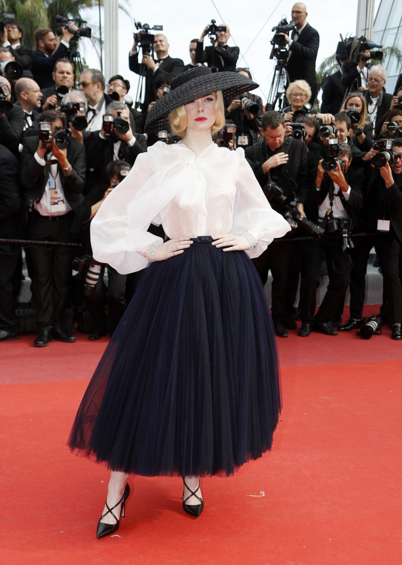 Elle Fanning wins best-dressed again at Cannes
