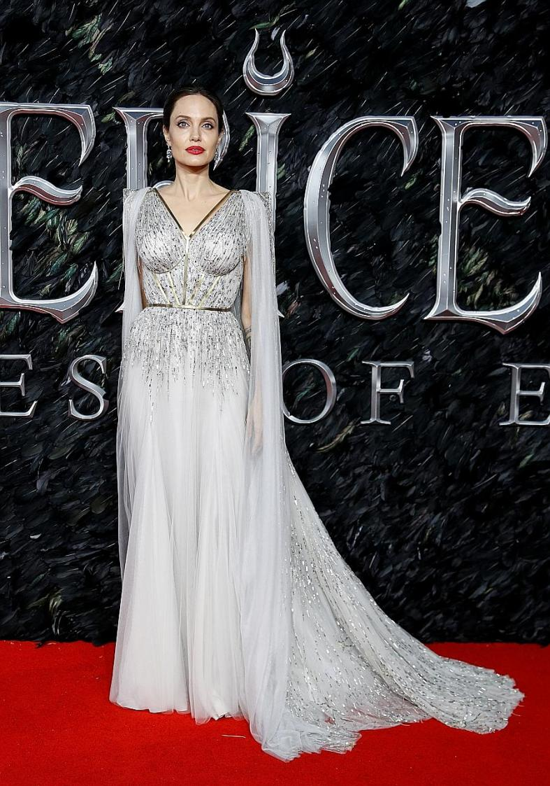 Angelina Jolie is queen of the red carpet