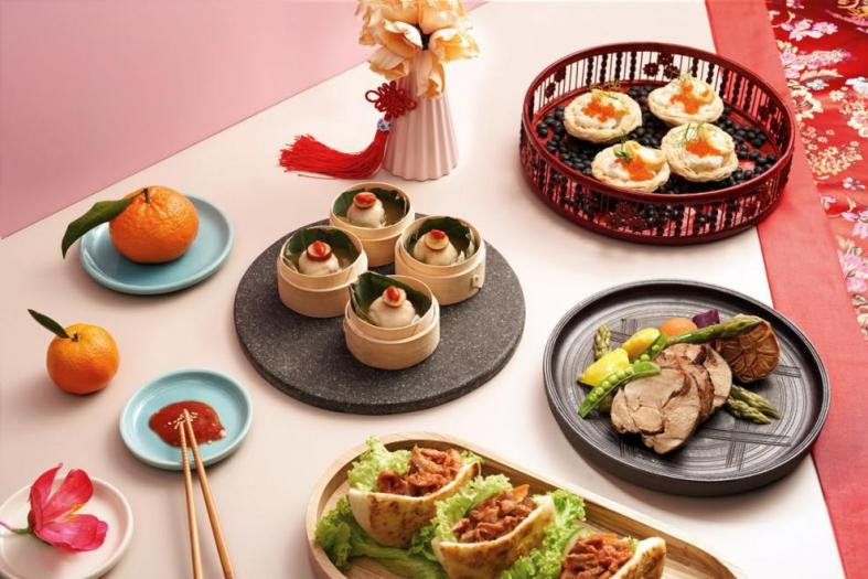 Hit up a buffet for a lavish CNY spread