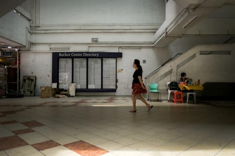 Rochor Centre With most shops shuttered, it was time for whatever that is left to be shifted out of place.