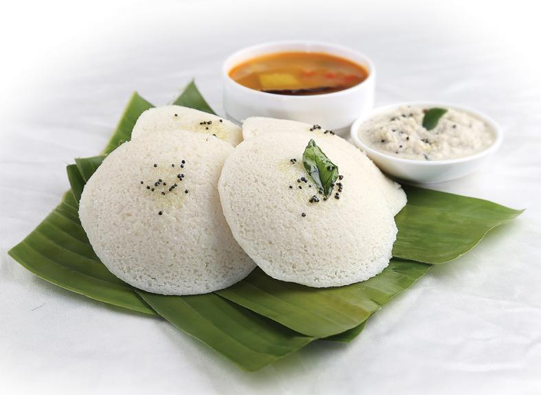 When you're in Coimbatore, don't miss Sree Annapoorna's idli, a popular street snack made of steamed rice and fermented black lentils