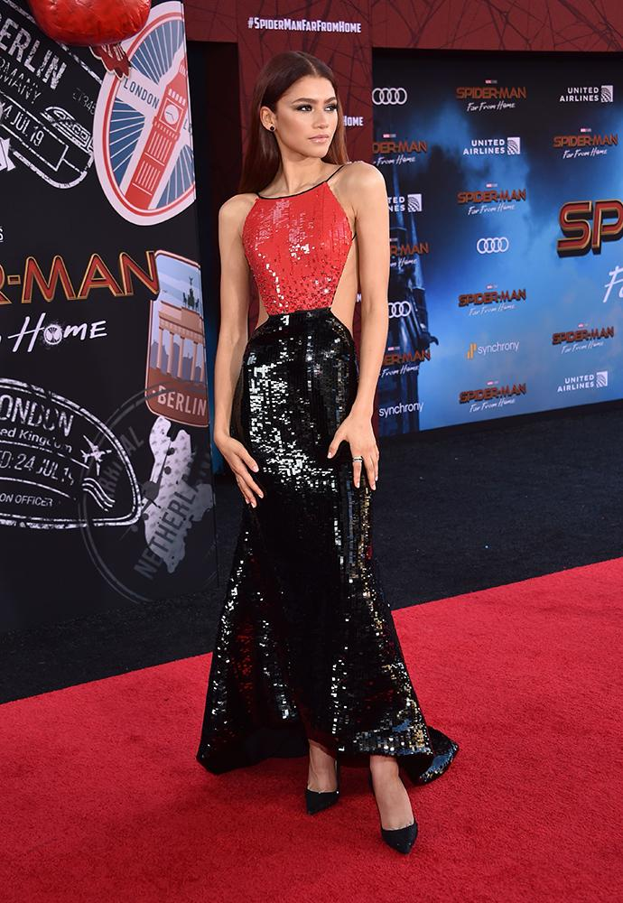 Zendaya's red-hot style will make your Spider senses tingle