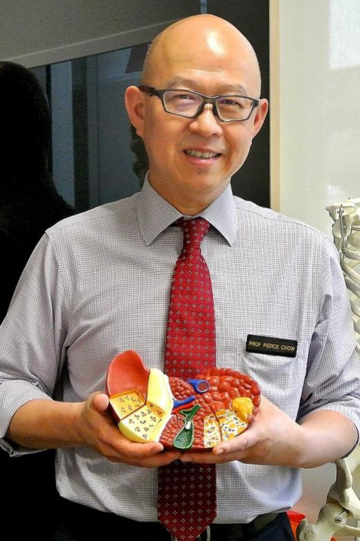 He wants to bring hope to liver patients