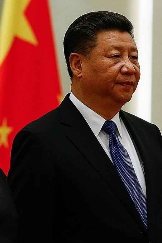 Xi backs efforts to curb HK independence