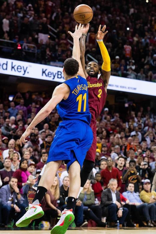 'Killer' Irving silences Warriors
