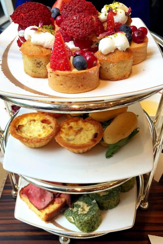 An exquisite afternoon tea