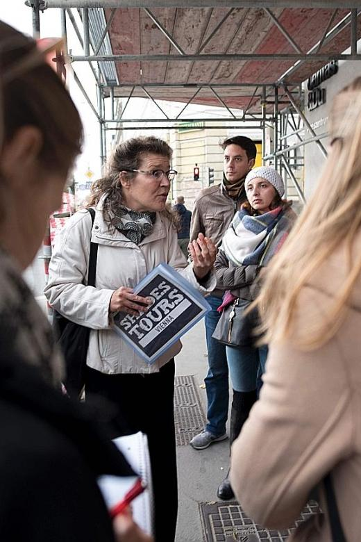 Vienna's homeless conduct tours