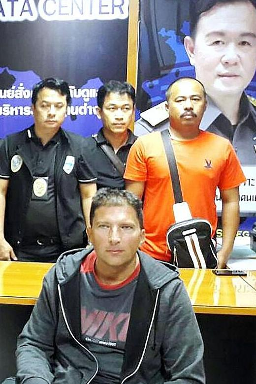 Sex offender with HIV arrested in Phuket