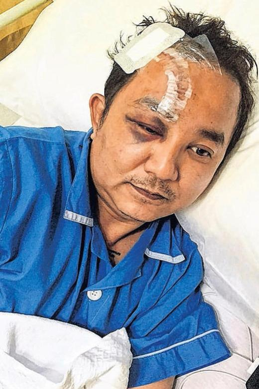 Cabby still traumatised by attack