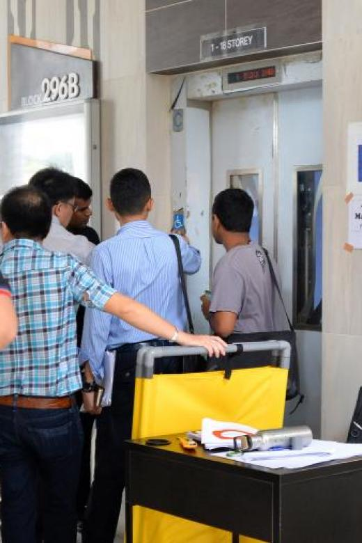Faulty lifts at new HDB high-rise leave residents worried for their safety