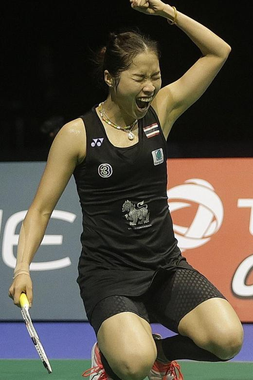 S'pore Open to feature holders Ratchanok, Sony and Olympic champ Marin