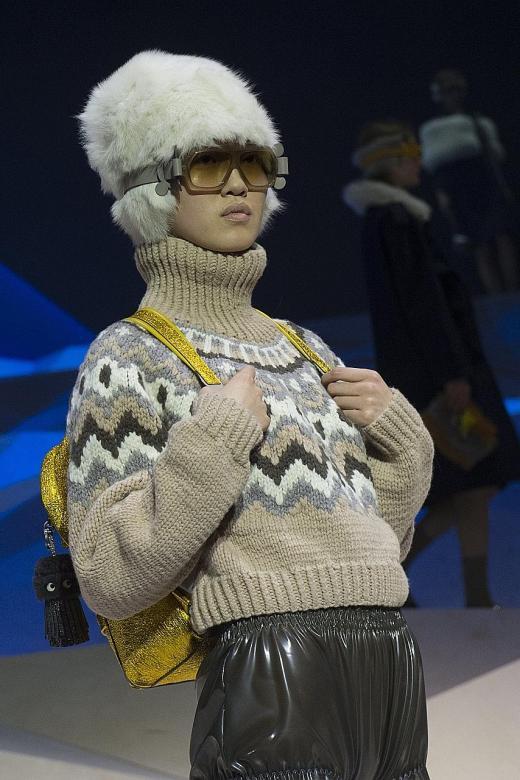 Dressed for winter in Scandinavian style