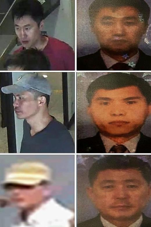 Suspects believed to have returned to North Korea