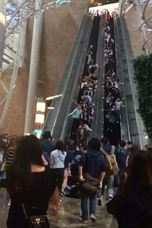 Faulty chain and brake may have caused HK escalator mishap