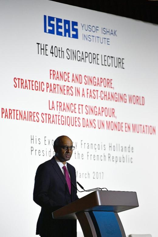 S'pore must stay open to the world: Tharman
