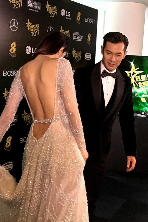 Local stars turn heads with revealing outfits at Star Awards