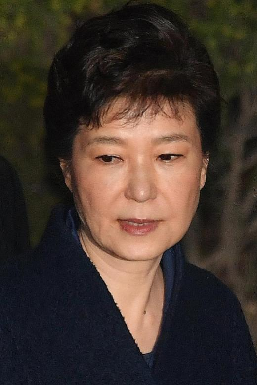 South Korea's ex-president Park charged with bribery