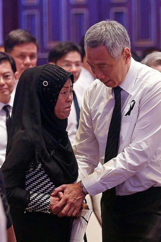 PM Lee delivers eulogy for pioneer leader Othman Wok