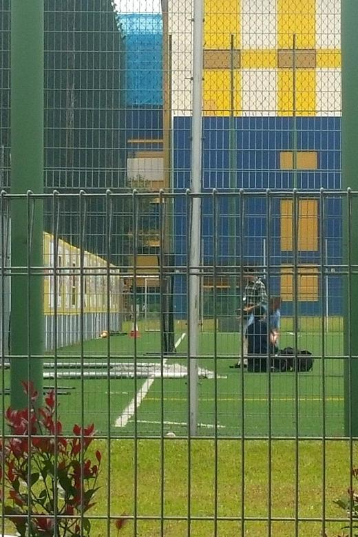 Sec 1 boy dies after goalpost falls on him