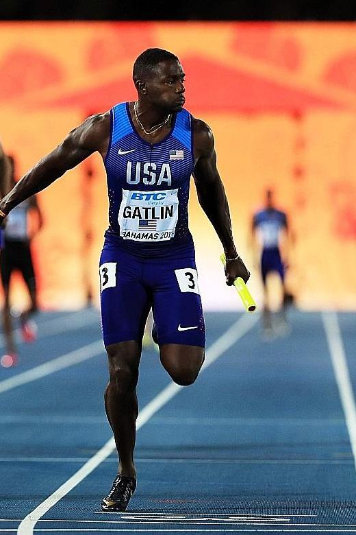 Gatlin and de Grasse renew rivalry in Doha