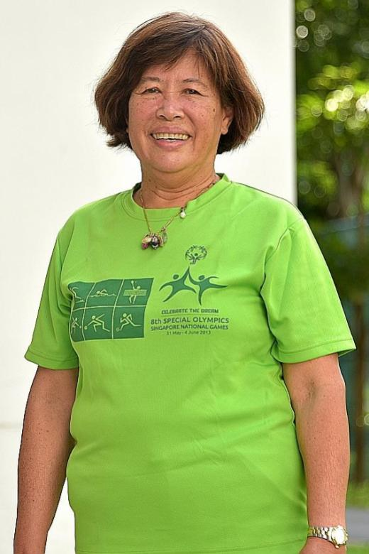 She helps supply meals for special needs athletes