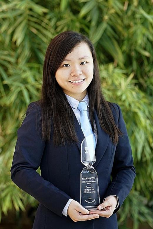 She graduates from ITE with perfect GPA despite struggles