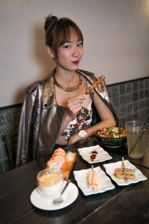 Celeb Chow with Julie Tan