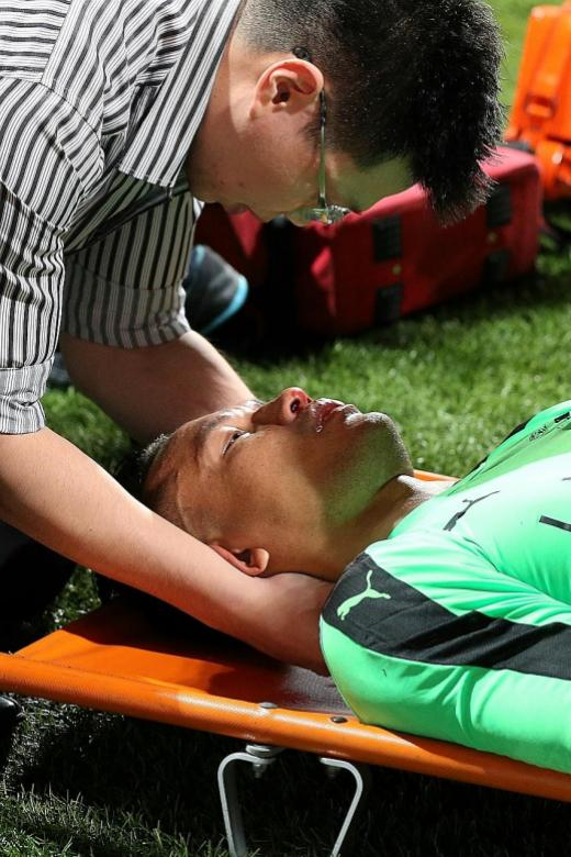 Hassan's injury mars Home's superb win