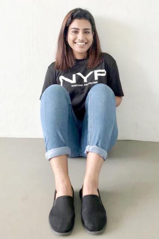 Mum's disability shapes NYP student's future