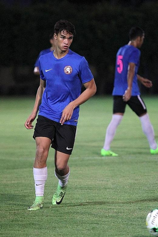 Young Lions banking on Ikhsan for goals