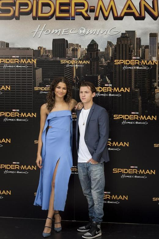 Spider-Man star Zendaya a normal 'super person'