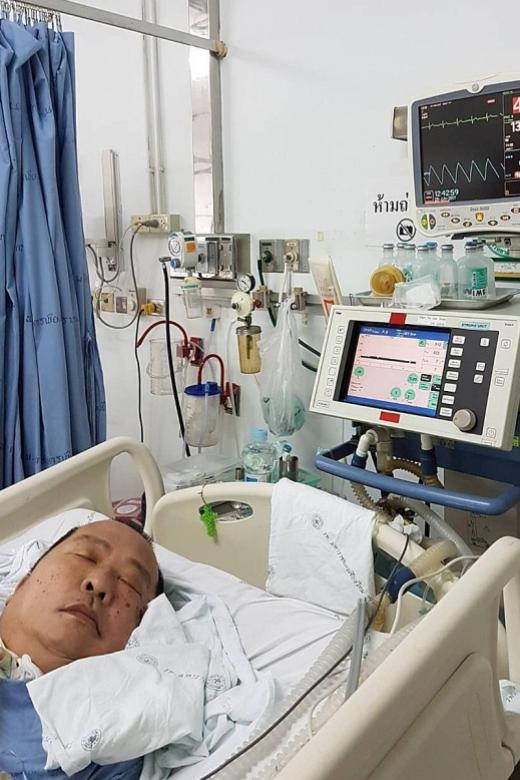 Campaign started to bring Singaporean who suffered stroke in Chiang Mai home