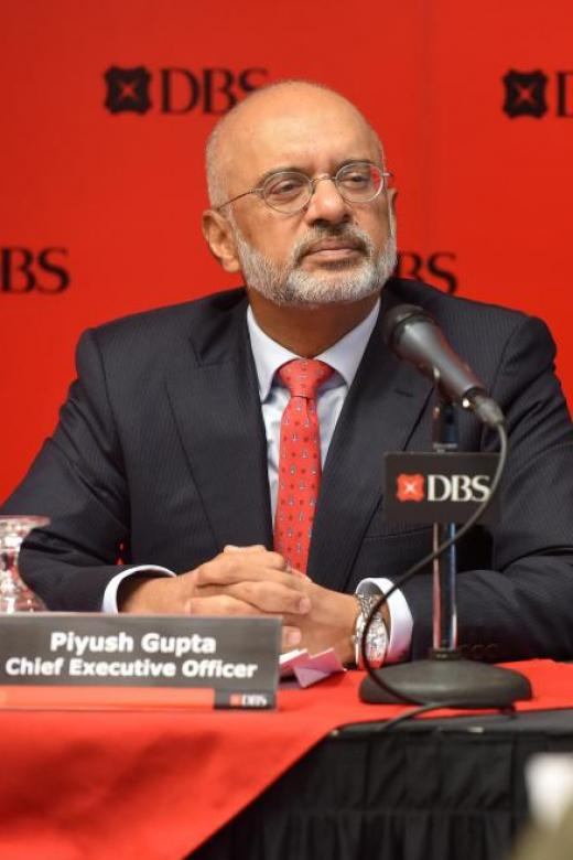 DBS CEO: Impact of US Fed's stimulus rollback limited